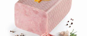 Ochutnávka šunky s vysokým obsahem masa